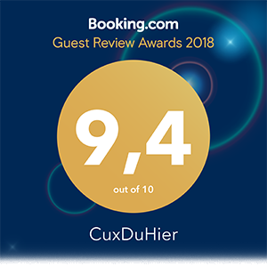 Guest Review Award 2018 von Booking.com